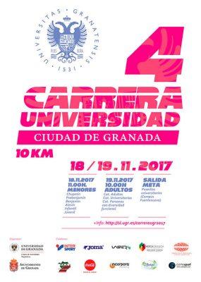 IV Carrera Universidad-Ciudad de Granada @ Paseos Universitarios de Fuentenueva   Granada   Andalucía   España