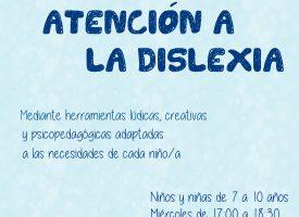 «Taller de Atención a la Dislexia» en La Metáfora (17-18)