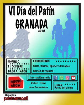 VI Día del Patín Granada 2018 @ Paseo del Violón | Granada | Andalucía | España