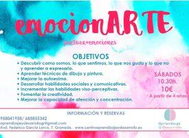 «emocionARTE» en Centro Aprendizaje y Desarrollo (17-18)