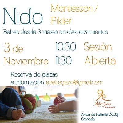 Sesión Abierta Nido (Grupo de Crianza y Juego Libre) @ Artes Sanas en Movimiento   Granada   Andalucía   España