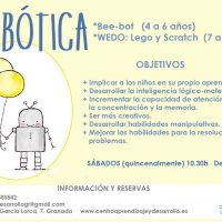 """""""Robótica"""" en Centro Aprendizaje y Desarrollo (17-18)"""