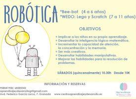«Robótica» en Centro Aprendizaje y Desarrollo (17-18)