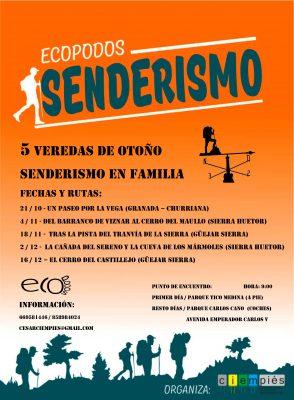 """Senderismo en familia """"Del Barranco de Viznar al Cerro del Maullo"""" @ Salida en Parque de Carlos Cano (coches)   Granada   Andalucía   España"""