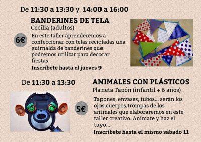 Taller infantil de animales con plástico @ La ReciCreativa   Granada   Andalucía   España