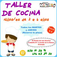 """""""Taller de Cocina Creativa"""" en El Sueño de una Sonrisa Granada (17-18)"""