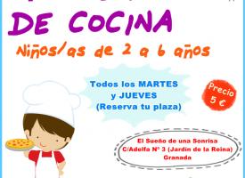 «Taller de Cocina Creativa» en El Sueño de una Sonrisa Granada (17-18)