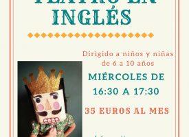 «Taller de Teatro en Inglés» en La Metáfota (17-18)