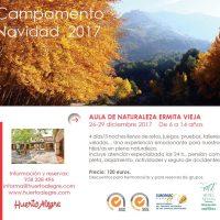 Campamento de Navidad con Huerto Alegre (2017)