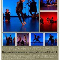 """""""Danza contemporánea y coreografía"""" con Vinculados (17-18)"""