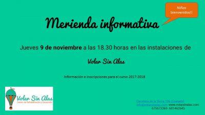 Merienda informativa de Volar Sin Alas, centro de Rehabilitación y Desarrollo @ Volar Sin Alas   Granada   Andalucía   España