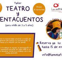 """""""Taller de Teatro y Cuentacuentos"""" en la Metáfora (2018)"""