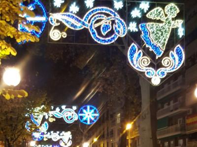Disfrutando de Granada con la familia en Navidad 2017