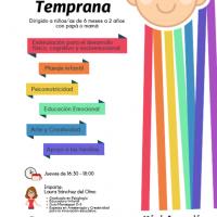 """""""Talleres de Estimulación Temprana con papá o mamá"""" en Centro Infantil Cascabel (2018)"""