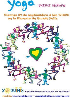 Yoga para niñ@s @ Librería Un Mundo Feliz | Granada | Andalucía | España