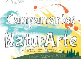 Campamento de verano NaturArte 2018 en Sierra de Cazorla (Espacio Laborarte)