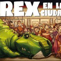 """""""Rex en la ciudad"""" de Gabo León Bernstein, un álbum ilustrado divertido y emotivo sobre la diversidad"""
