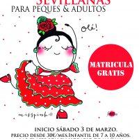 Sevillanas y flamenco para niños 2018