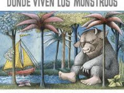 """Donde viven los monstruos"", de Maurice Sendak"