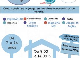 """""""P1C0 Camp"""" 2018, ecoaventuras de verano de la mano de EJI."""