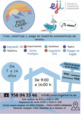 """""""P1C0 Camp"""" 2018, ecoaventuras de verano de la mano de EJI en Granada"""