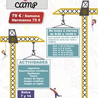 «eji camp» 2018, un campamento de verano con ingeniería y juegos de lógica para niños de 7 a 14 años