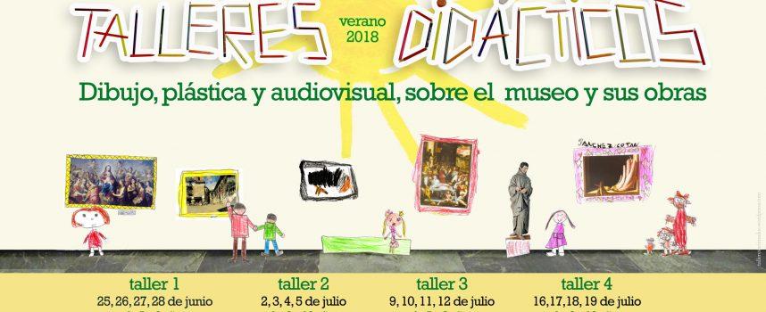 Talleres didácticos gratis en el Museo de Bellas Artes con Talleres Animados – 2018