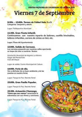 CHURRIANA - Fiestas Patronales (actividades infantiles) @ Plaza del Ayuntamiento de Churriana de la Vega | Churriana de la Vega | Andalucía | España