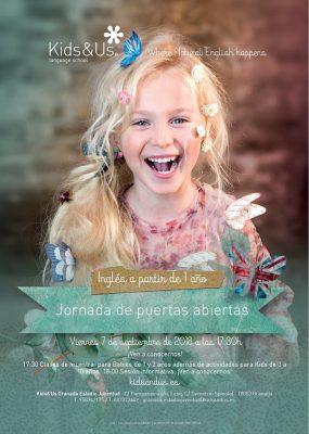 Jornada de Puertas abiertas Kids&Us @ Kids&Us Granada EstadioJuventud | Granada | Andalucía | España