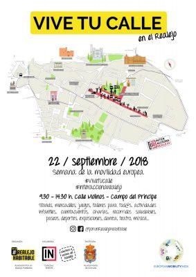 VIVE TU CALLE en el Realejo 2018 @ c/ Molinos y Campo del Príncipe (Barrio del Realejo) | Granada | Andalucía | España