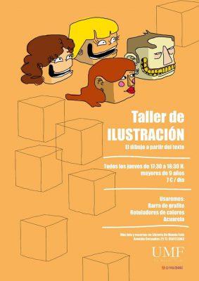 Taller de Ilustración (el dibujo a partir del texto) @ Librería Un Mundo Feliz | Granada | Andalucía | España