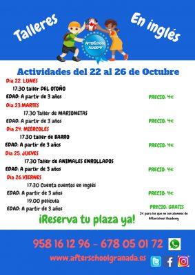 Talleres infantiles en inglés @ AfterSchool Academy | Granada | Andalucía | España