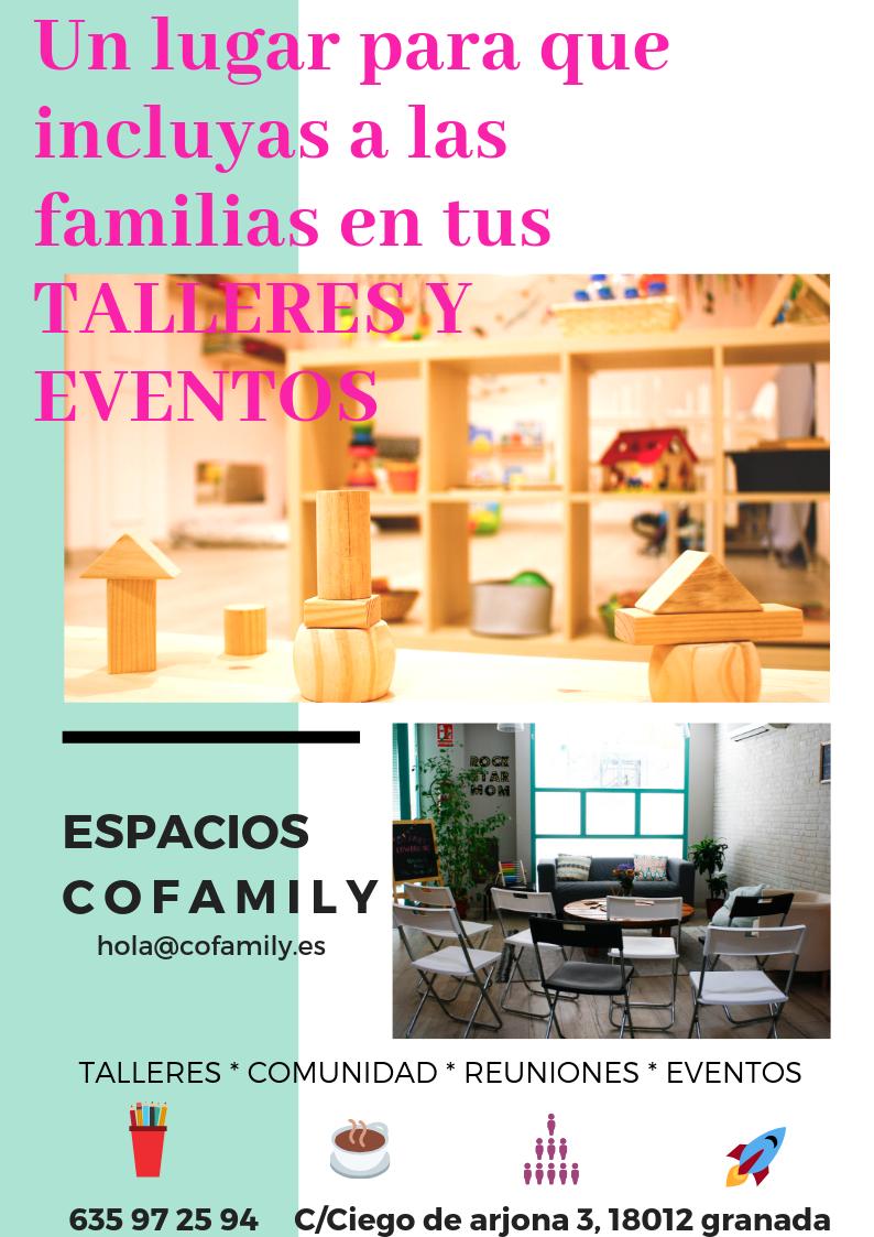 Eventos en familia. Cofamily Coworking Granada